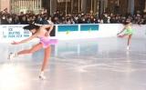 「ICE SKATING PARK 2018」でスケーティングを披露した(左から)本田望結、本田紗来 (C)ORICON NewS inc.