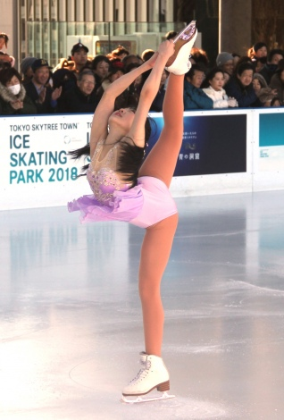 「ICE SKATING PARK 2018」イベントの模様 (C)ORICON NewS inc.