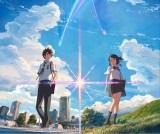 テレビ朝日系で地上波初放送された新海誠監督の長編アニメーション『君の名は。』(C) 2016「君の名は。」製作委員会