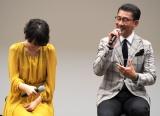 テレビ東京系新春ドラマスペシャル『娘の結婚』の会見に出席した(左から)波瑠、中井貴一 (C)ORICON NewS inc.