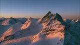 真冬のスイス・アルプス