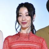 映画『愛の病』初日舞台あいさつに出席した瀬戸さおり (C)ORICON NewS inc.