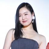 映画『愛の病』初日舞台あいさつに出席した佐々木心音 (C)ORICON NewS inc.