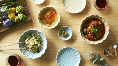 HANAEMI SERIES(花笑みシリーズ)食卓に花を咲かせる「花笑み」(豆皿/小皿/小鉢/盛鉢)