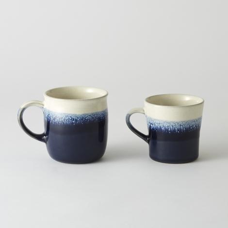 ABYSS SERIES(アビスシリーズ)深海のようなディープブルーのグラデーションが美しいマグカップ