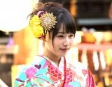 新成人の晴れ着姿披露を披露した桜井日奈子(C)ORICON NewS inc.