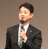 『千葉 40歳のW成人式』に出席した熊谷俊人千葉市長 (C)ORICON NewS inc.