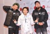 『第68回NHK紅白歌合戦』のリハーサルに参加したWANIMA(左から)KO-SHIN、KENTA、FUJI (C)ORICON NewS inc.