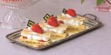 『静岡いちご 紅ほっぺストロベリーフェスタ』で販売される「ル パティシエ タカギ」の『紅ほっぺミルフィーユ』。サクサクの食感とエレガントな甘さが楽しめる