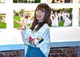 原宿で写真展を開催中のSKE48高柳明音 (C)ORICON NewS inc.