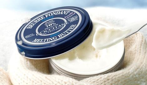 サムネイル 乾燥しがちな冬も艶やかなもっちり肌に導く『シア メルティングバター』