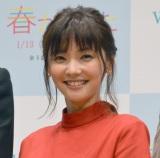 WOWOW『連続ドラマW 春が来た』完成披露試写会に出席した倉科カナ (C)ORICON NewS inc.