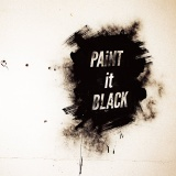 BiSHメジャー3rdシングル「PAiNT it BLACK」配信用ジャケット