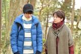 日本テレビ系連続ドラマ『anone』より。広瀬すず、田中裕子 (C)日本テレビ