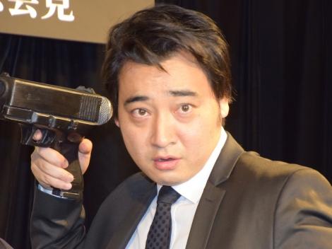 昨年12月にタレントの瀬戸サオリと結婚したジャングルポケット・斉藤慎二=映画『ジョン・ウィック:チャプター2』4K UTD・ブルーレイ・DVDリリースイベント (C)ORICON NewS inc.