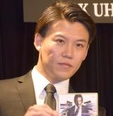 映画『ジョン・ウィック:チャプター2』4K UTD・ブルーレイ・DVDリリースイベントに参加したジャングルポケット・おたけ (C)ORICON NewS inc.