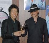 新曲でコラボが実現した(左から)DEEN・池森秀一と漫画家・樹林伸(亜樹直) (C)ORICON DD inc.