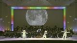 1月11日、NHK・BSプレミアムで放送『コズミック フロント☆MUSIC』忍たま乱太郎の3人組が宇宙服で登場(C)NHK