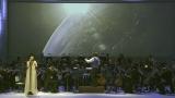 1月11日、NHK・BSプレミアムで放送『コズミック フロント☆MUSIC』歌手のYuccaが『コズミック フロント☆NEXT』テーマ曲を熱唱(C)NHK