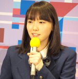 ドラマ『電影少女-VIDEO GIRL AI 2018-』の記者会見に出席した飯豊まりえ (C)ORICON NewS inc.
