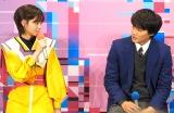 ドラマ『電影少女-VIDEO GIRL AI 2018-』の記者会見に出席した(左から)乃木坂46・西野七瀬、野村周平 (C)ORICON NewS inc.