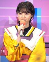 ドラマ『電影少女-VIDEO GIRL AI 2018-』の記者会見に出席した乃木坂46・西野七瀬 (C)ORICON NewS inc.