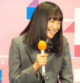 ドラマ『電影少女-VIDEO GIRL AI 2018-』の記者会見に出席した大友花恋 (C)ORICON NewS inc.
