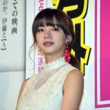 映画『伊藤くんA to E』公開記念舞台あいさつに登壇した池田エライザ (C)ORICON NewS inc.