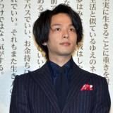 映画『伊藤くんA to E』公開記念舞台あいさつに登壇した中村倫也 (C)ORICON NewS inc.