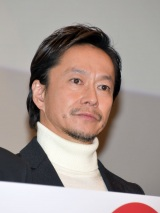 映画『悪と仮面のルール』初日舞台あいさつに登壇した中村達也 (C)ORICON NewS inc.