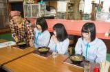 『STU48 ×千鳥 瀬戸内少女応援団』1月28日、カンテレほかで放送。北木島(左から)藤森あずさ、森香穂、張織慧