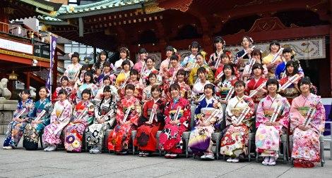 最多40人が参加したAKB48グループの成人式 (C)ORICON NewS inc.