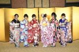 NGT48の新成人(左から)西村菜那子、奈良未遥、宮島亜弥、中井りか、村雲颯香、太野彩香(C)AKS