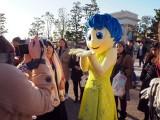 東京ディズニーシーで「ピクサー・プレイタイム」がスタート(3月19日まで)ヨロコビがグリーティングに登場 (C)ORICON NewS inc.