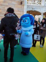 東京ディズニーシーで「ピクサー・プレイタイム」がスタート(3月19日まで)カナシミがグリーティングに登場 (C)ORICON NewS inc.