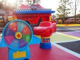 東京ディズニーシーで「ピクサー・プレイタイム」がスタート(3月19日まで)ウォーターフロントパークにある『カーズ』がテーマのゲームブース (C)ORICON NewS inc.