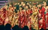 AKB8グループの新成人メンバーが晴れ着でコンサート (C)ORICON NewS inc.