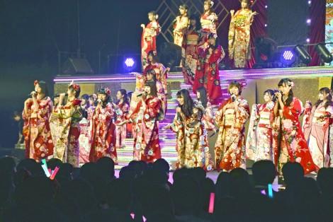 『AKB48グループ成人式コンサート〜大人になんかなるものか〜』より (C)ORICON NewS inc.
