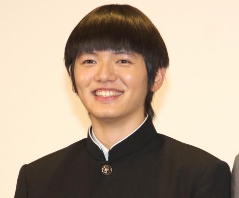 ドラマ『モブサイコ100』の記者会見に出席した濱田龍臣 (C)ORICON NewS inc.