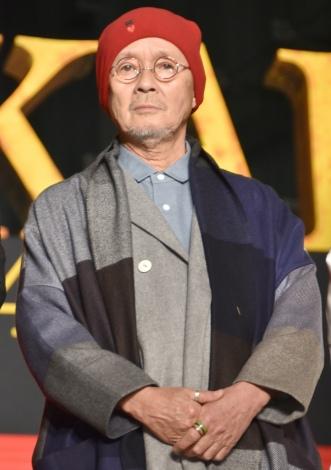 映画『空海 —KU-KAI— 美しき王妃の謎』ジャパンプレミアに出席した火野正平 (C)ORICON NewS inc.