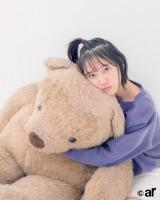 『ar』2月号に登場した乃木坂46・堀未央奈
