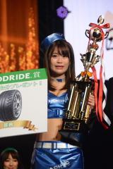 400人超の中から『日本レースクイーン大賞 2017』グランプリに輝いた阿久津真央 (C)oricon ME inc.
