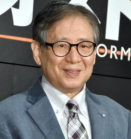 映画『ジオストーム』のイベントに出席した森田正光 (C)ORICON NewS inc.