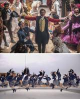映画『グレイテスト・ショーマン』と大阪府立登美丘高校ダンス部のコラボ映像が公開 (C)2017 Twentieth Century Fox Film Corporation