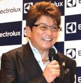 ロボット掃除機『PUREi9(ピュア・アイ・ナイン)』新製品発表会に出席した哀川翔 (C)ORICON NewS inc.