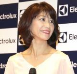 ロボット掃除機『PUREi9(ピュア・アイ・ナイン)』新製品発表会に出席した高田万由子 (C)ORICON NewS inc.