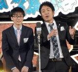 『M-1グランプリ2017』敗者復活戦でネタを披露するスーパーマラドーナ (C)ORICON NewS inc.