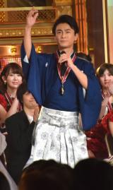 『第50回日本有線大賞』を受賞して歌う氷川きよし (C)ORICON NewS inc.