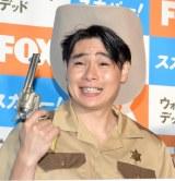 FOX×スカパー!ドラマ『ウォーキング・デッド8』プレミアム・オフ会に出席した吉村崇 (C)ORICON NewS inc.