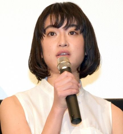 映画『サニー/32』完成披露舞台あいさつに登壇した門脇麦 (C)ORICON NewS inc.